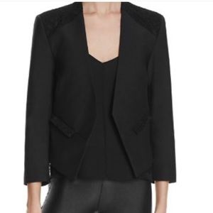 Generation Love Black Blazer with Lace
